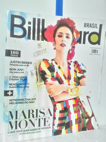 Revista Billboard Edicao 26 Com 160 Pag.
