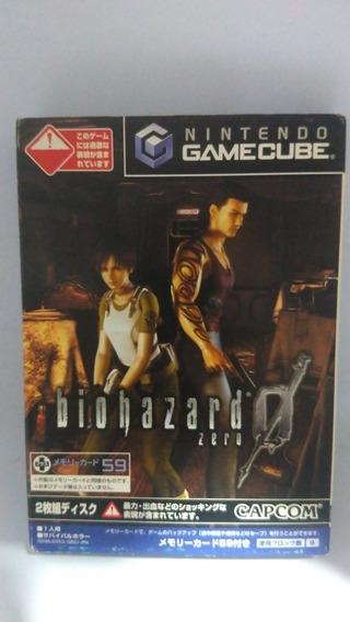 Resident Evil, Biohazard Zero 0 - Jogo Nintendo Gamecube
