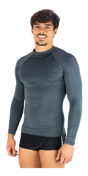 Kit 2 Camisa Térmica Masculina Segunda Pele Praia Uv Surf