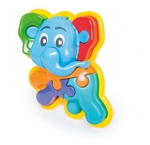 Puzzle Animalitos Elefante Calesita (3075)
