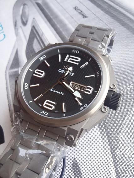 Relógio Orient Army Tech Titanium Automático - Nunca Usado