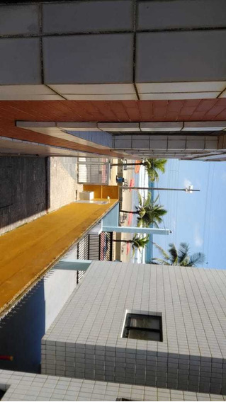 Apartamento 1 Dormitório Prédio De Frente Para Praia