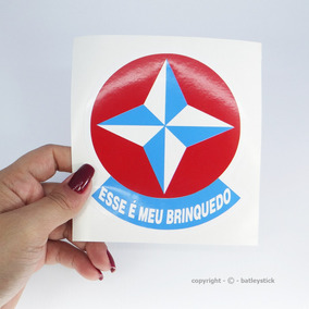 Vinil Adesivo Automotivo Estrela Esse É Meu Brinquedo