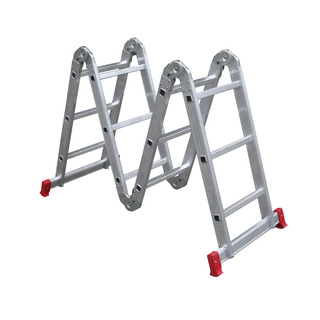 Escada Multifuncional Alumínio 4x3 12 Degraus