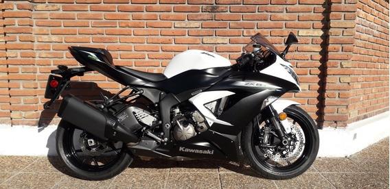 Kawasaki Ninja Zx 6 R Financio Permuto Qr Motors Dolar Bille