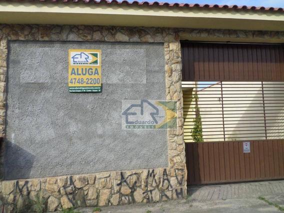 Casa Com 1 Dormitório Para Alugar, 45 M² Por R$ 430/mês - Jardim São José - Suzano/sp - Ca0206