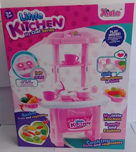 Cocina De Juguete Kitchen/ Set De Te Lol Minnie/ Cocinita