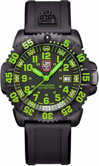 Relógio Luminox Navy Seal Colormark A.3067 Verde