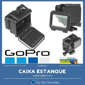 Caixa Estanque Gopro 5 6 7 Tela Touch - Sem Remover O Anel