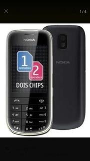 Celular Nokia 202 Asha -02chip,nacional