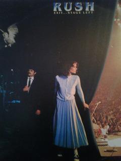 Lp Rush Banda De Rock Canadiense. Importado 2 Discos. 1981