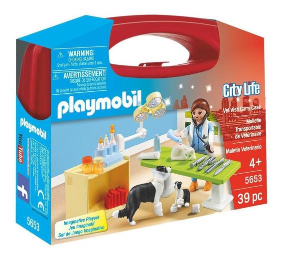 Playmobil City Life 5653 Maletin Veterinario Original