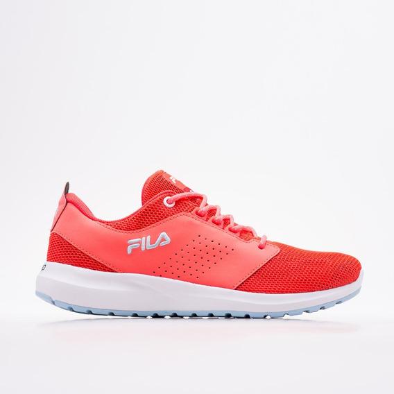 Zapatilla Fila Fxt Full Flownet Coral Fluo Original