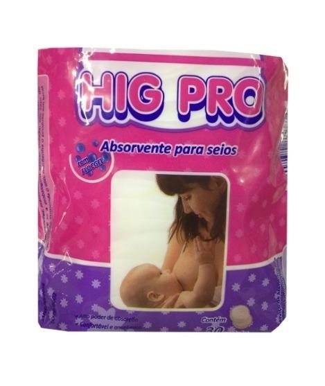 Absorvente Protetor De Seios Hig Pro 90 Un. Melhor Preço!!