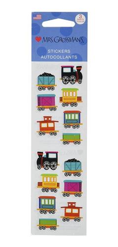 Mrs Grossman Stickers - Chubby Train  -  Pegatinas Decorativ