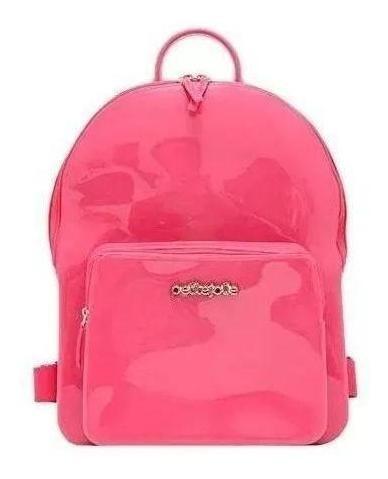 Bolsa Mochila Petite Jolie Pj2032 Kit J-lastic Rosa Pink