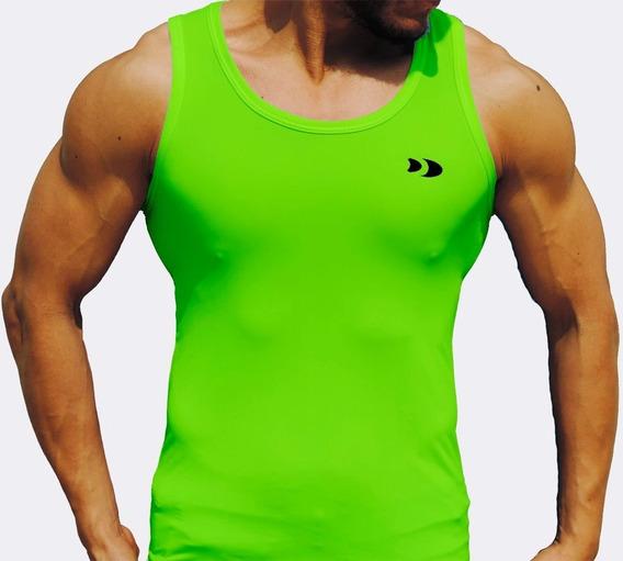 Camiseta Corte Olímpico (sin Mangas) De Licra Dry-fit