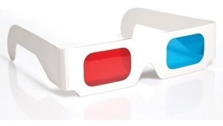 Óculos 3d Anáglifo