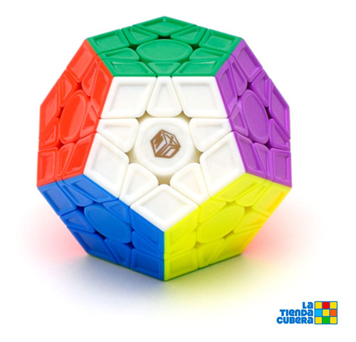 Cubo Rubik Megaminx Galaxy V2 M - Cubo Mágico Full Color