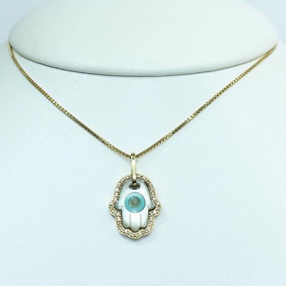 Pocao2005- Colar De Ouro 18k750 Diamantes Grife Vivara C103