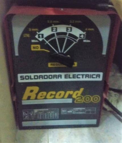 Soldadora Electrica Record 200 Electrodo