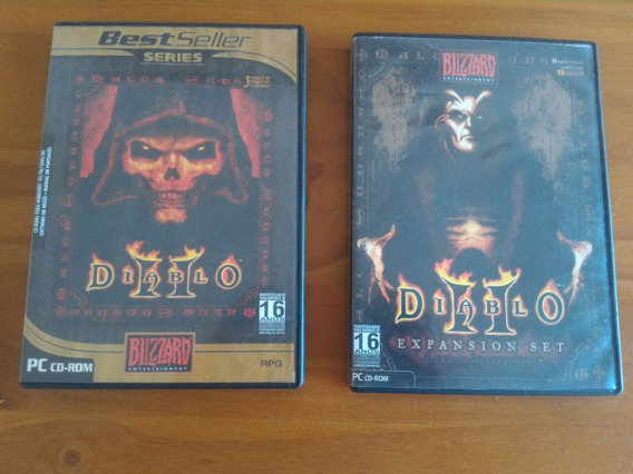 Diablo Ii + Diablo Ii Expansion Set Original