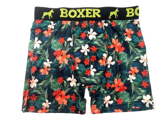 Boxer Original Sublimados - Microfibra Premium Flex® - Deportes - Actividades De Agua Y Nieve - Pack X 3