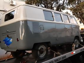 Kombi 61 Combi Van Transporter Mod.luxo Reforma Finalizando