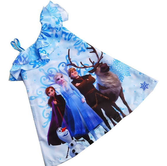 Vestido Con Bolero Frozen - Ig