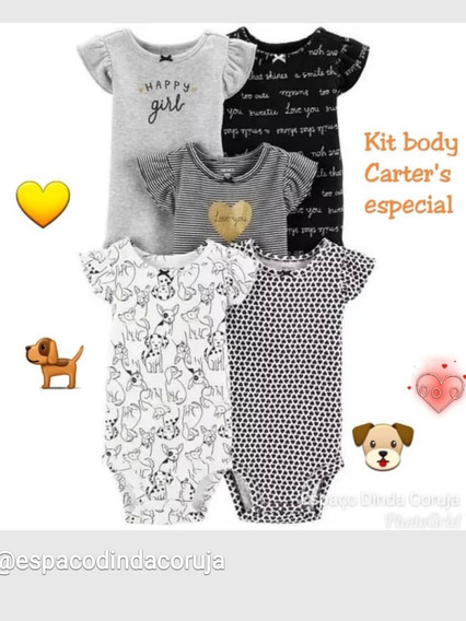 Bodies Regatas Kit Carters Originais