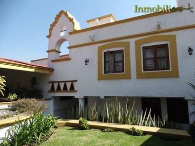(crm-368-2404) Magnífica Casa En Renta En Club De Golf Hacienda
