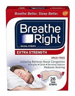 Breathe Right Tiras Nasales Dejar De Roncar 26 Uds