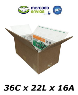 50 Caixas De Papelão 36 X 22 X 16 T Usada Correio Pac Sedex
