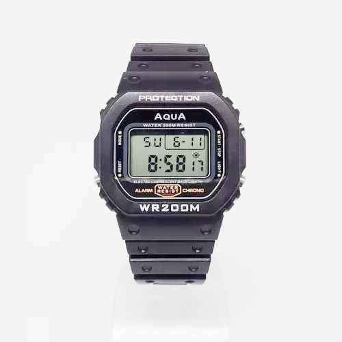 Relógio Do Presidente Bolsonaro Digital Aqua À Prova D