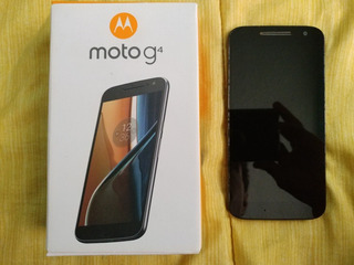Motorola Moto G4 Con Detalle