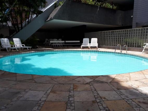 Apartamento Em Tamarineira, Recife/pe De 171m² 4 Quartos Para Locação R$ 1.935,00/mes - Ap327736