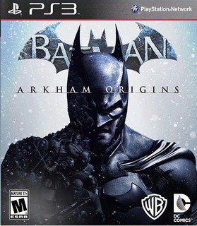 Batman Arkham Origins Ps3 Goroplay Digital