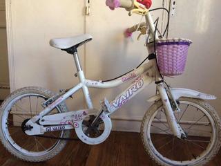 Bicicleta Vairo Niña Rodado 16, Muy Buena