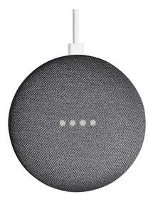 Caixa De Som Speaker Google Home Mini Wi-fi Vitrine