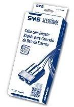 Cabo De Engate Rápido Conexão Bateria Externa Sms