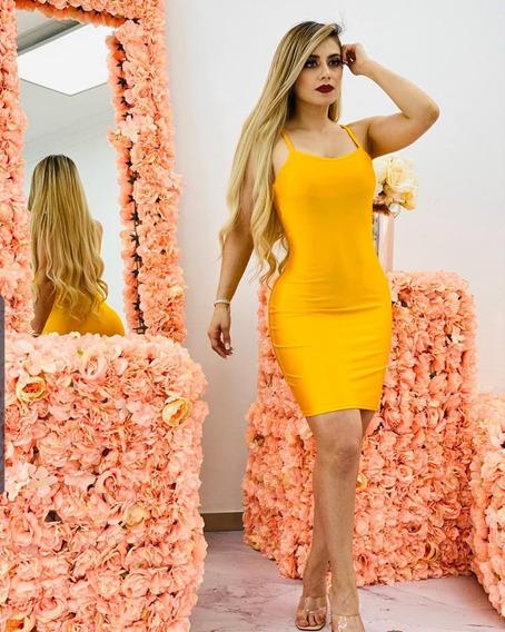 Vestido Dama Lycra Colombiana Ajuste Perfecto Fiesta