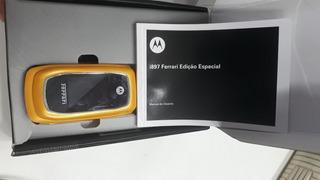 Celular Motorola I897 Ferrari Amarelo