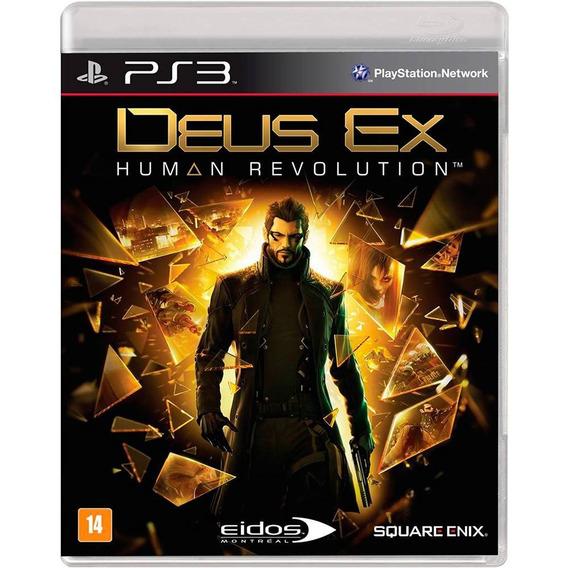 Deus Ex Human Revolution Mídia Física Ps3