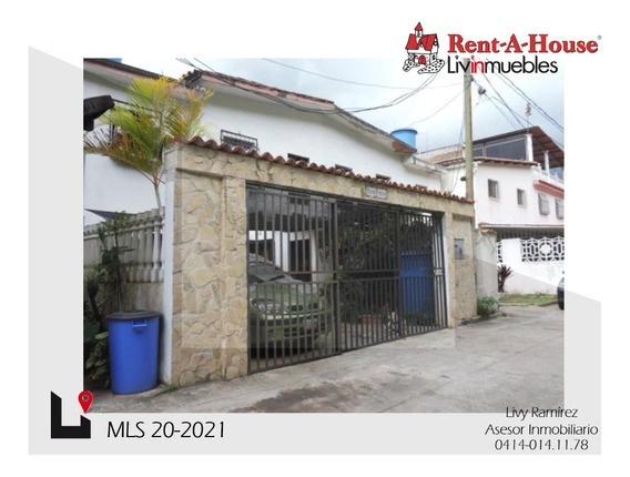 Casa E Venta. Los Teques Mls 20-2021