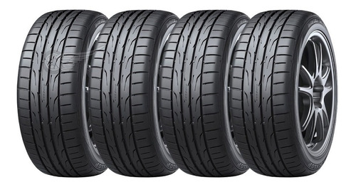 Kit 4 Neumáticos Dunlop 205 55 R16 Dz102 Vento Focus Corolla