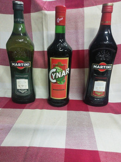 Martin Dry, Martini Rosso, Cynar