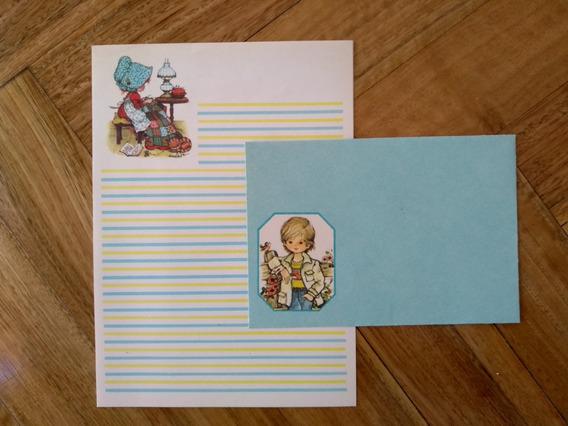 Papel Carta Coleccionable Antiguo! -años 80 -vintage