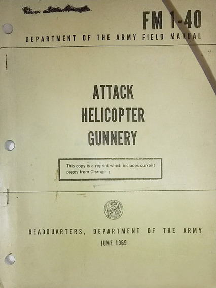 Manual Militar Us Army Fm1.40 Attack Helicopter Gunnery
