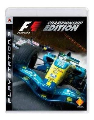 Formula 1 Championship Edition Ps3 Mídia Física