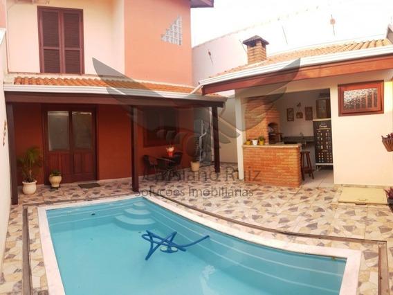 Sobrado No Wanel Ville - 03 Dormitórios - 01 Suite Master - Piscina - Churrasqueira - Ca00112 - 33817799